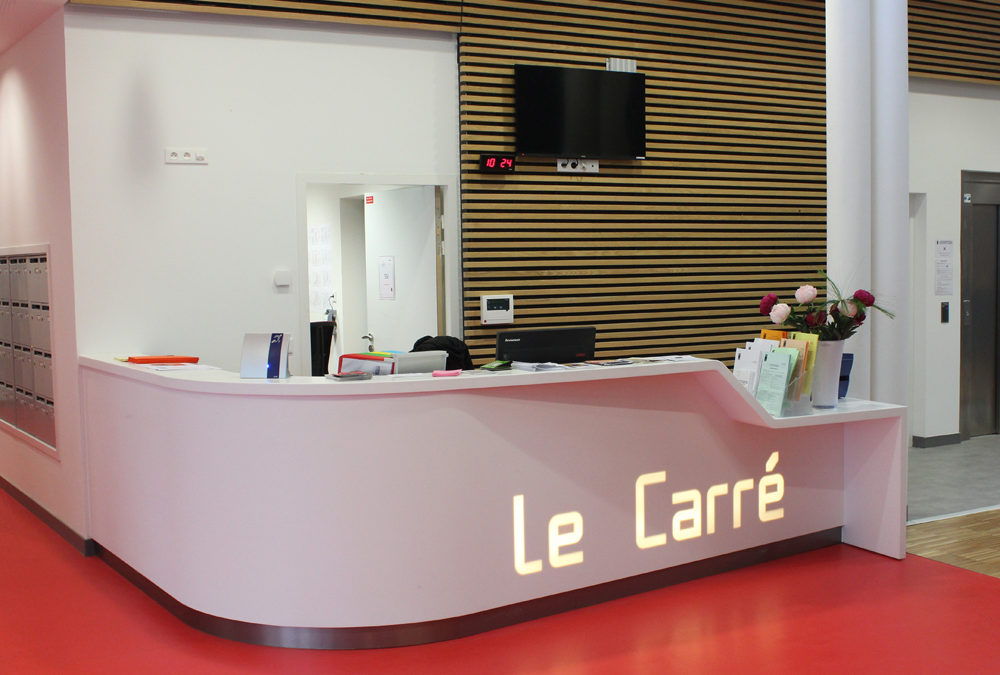 Construction d'un pôle multi-services « Le Carré » à Saint-Herblain (44)