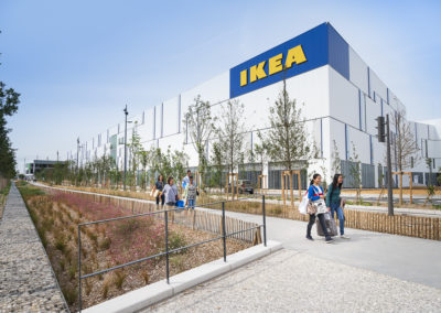 Construction d'un magasin IKEA – Lyon Grand Parilly (69)